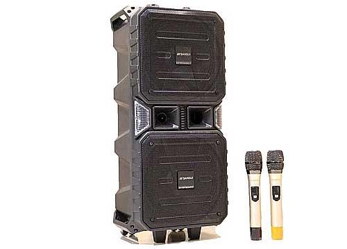Loa kéo 2 bass Sansui TWS210-03A, 2 micro không dây
