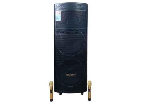 Loa kéo 2 bass Soundbox SB-219P, công suất đỉnh 1000W