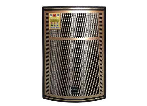 Loa kéo Acnos CB-1508, loa di động karaoke thùng gỗ cao cấp
