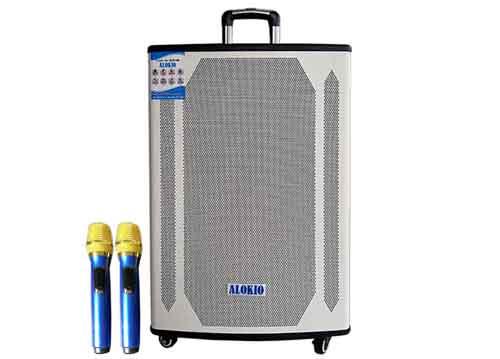 Loa kéo Alokio AL-T95, loa karaoke 4.5 tấc, công suất max 550W