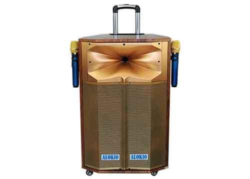 Loa kéo Alokio AL-TH71, loa di động karaoke, công suất max 550W