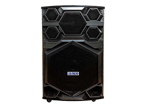 Loa kéo Alokio AL-VB71, loa  karaoke di động, công suất max 500W