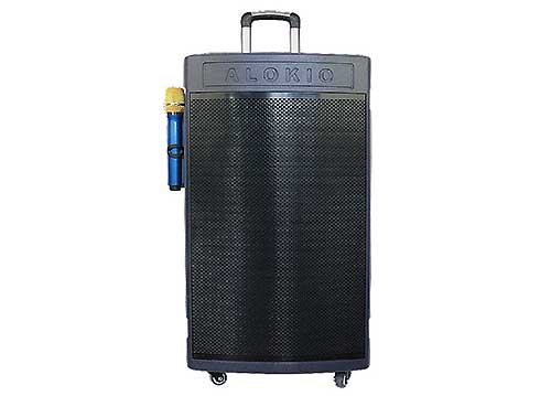 Loa kéo ALokio WML-G15 4 tấc, loa karaoke di động, công suất max 300W