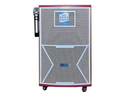 Loa kéo Alokio WML-H65 , loa karaoke thùng gỗ, công suất tối đa 400W