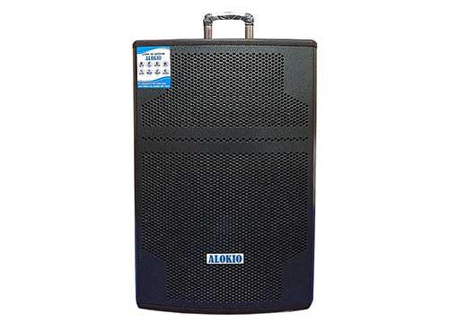 Loa kéo Alokio WML-NB15, loa karaoke chính hãng, công suất max 500W