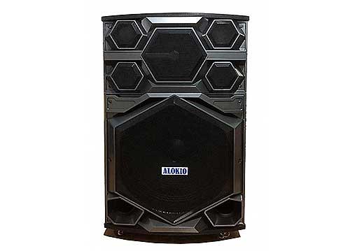 Loa kéo Alokio WML-VB3, loa karaoke di động, công suất max 480W