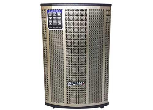 Loa kéo Anamax GX-6000, loa karaoke vỏ gỗ, bass 4 tấc