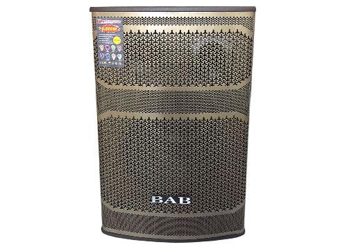 Loa kéo BAB BN-401, loa karaoke vỏ gỗ, công suất 50-200W