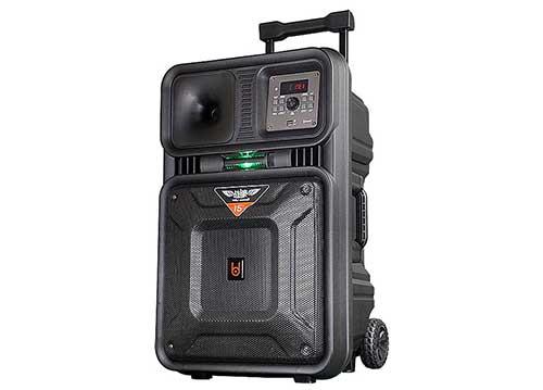 Loa kéo BD-H1276, loa karaoke công nghệ từ Đức, công suất đỉnh 500W