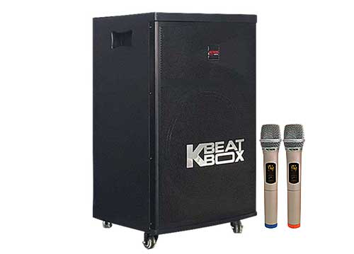 Loa kéo Beatbox KB402, ứng dụng app karaoke với 30.000 bài hát