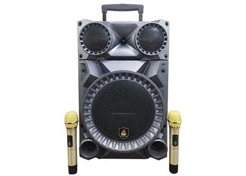 Loa kéo Carry Kim CK412, loa di động cỡ 3.5 tấc, hát karaoke hay