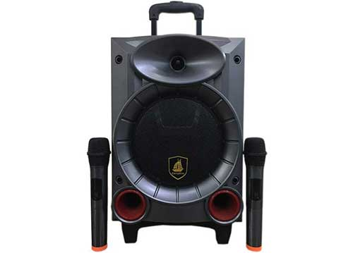 Loa kéo CarryKim CK608, loa karaoke mini với công suất RMS 50W