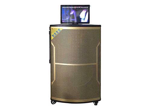 Loa kéo có màn hình Bose KJ-1080, LCD cảm ứng 17 inch, 600-800W