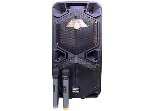 Loa kéo CXF GL-102, loa karaoke 2 bass, công suất max 200W
