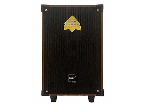 Loa kéo CXF GL-1208, loa di động thùng gỗ hơn 3 tấc, max 400W