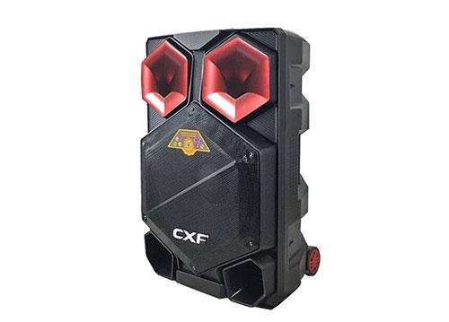 Loa kéo CXF GL-1501, loa hát karaoke vỏ nhựa, max 400W