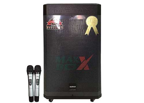Loa kéo Daemax DS15-03, loa karaoke cao cấp, công suất max 600W
