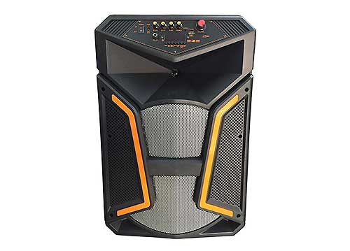 Loa kéo di động 151, loa karaoke công suất lớn, bass 4 tấc