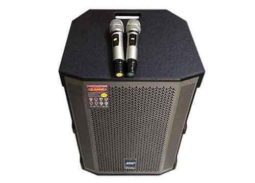 Loa kéo di động 15C, loa hát karaoke cao cấp, bass 4 tấc