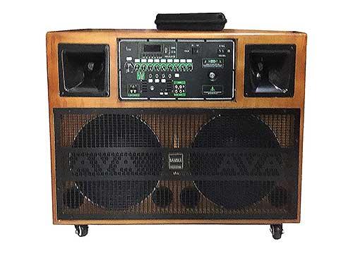 Loa kéo di động B212-01, dàn loa karaoke công suất lớn