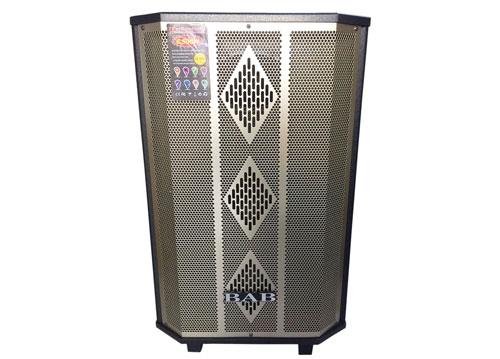 Loa kéo di động BAB BN-401B, loa karaoke vỏ gỗ, bass 4 tấc