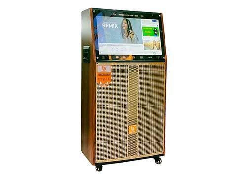 Loa kéo di động BOK Q33, loa karaoke có màn hình cảm ứng