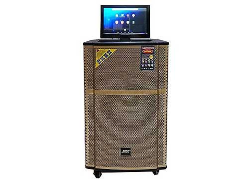 Loa kéo di động Bose KT-9915FX màn hình 14 inch, công suất max 600W