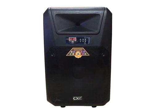 Loa kéo CXF 1509T, loa karaoke di động, công suất tối đa 400W
