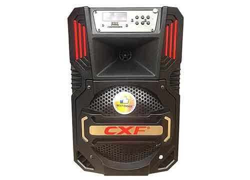 Loa kéo di động CXF GL805, loa karaoke vỏ nhựa, bass 2 tấc