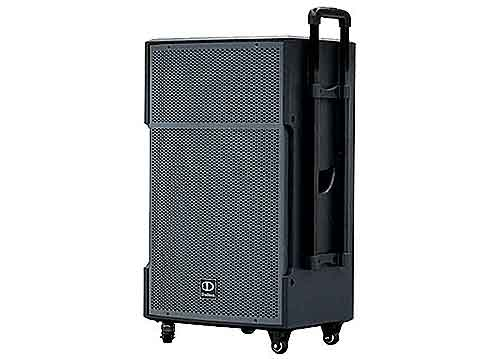 Loa kéo di động Dalton TS-15G500, loa karaoke thùng gỗ, max 500W