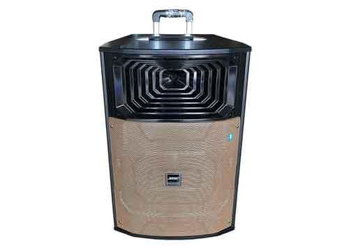 Loa kéo di động H1515, loa karaoke công suất lớn, bass 4 tấc