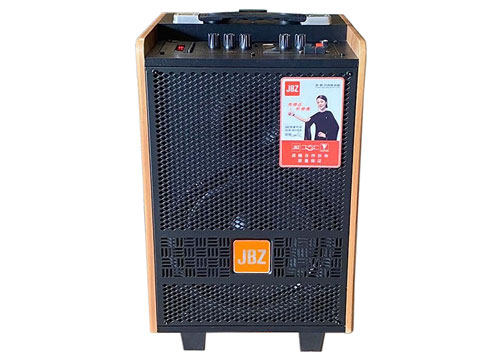 Loa kéo di động JBZ J2, loa karaoke vỏ gỗ, bass 3 tấc