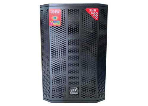 Loa kéo di động JMW J6000, loa karaoke thùng gỗ cao cấp