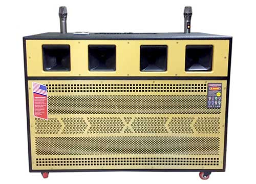 Loa kéo di động P120, dàn âm thanh karaoke công suất lớn