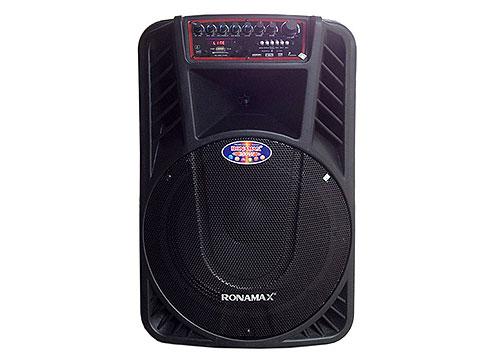 Loa kéo di động Ronamax H12, loa karaoke 3 tấc, power max 300W