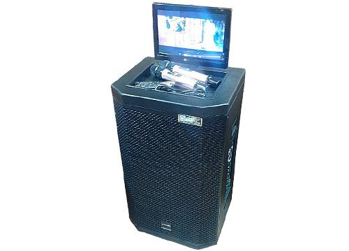 Loa kéo di động Sansui SA2-212, LCD cảm ứng 12 inch, 2 bass 3 tấc