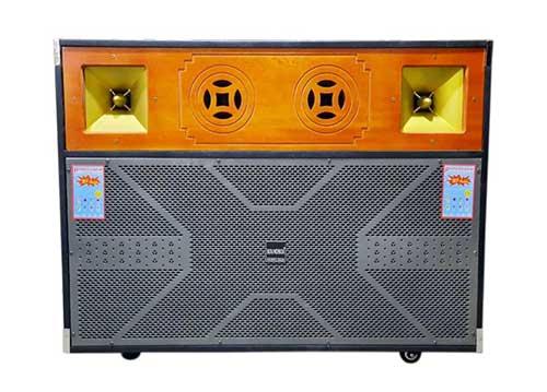 Loa kéo di động Soundbox mẫu A, vỏ đóng dạng tủ để tivi