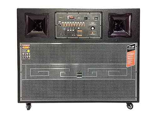 Loa kéo di động T9, loa karaoke 2 bass, karaoke rất hay