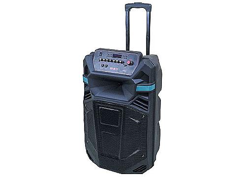 Loa kéo di động V-S1535, loa karaoke vỏ nhựa, bass 4 tấc