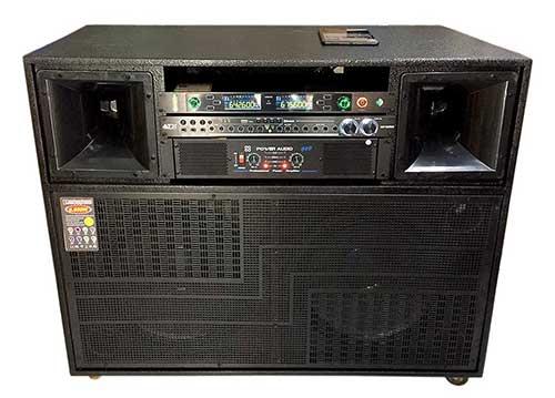 Loa kéo điện A1100, loa karaoke công suất lớn, PMPO 6500W