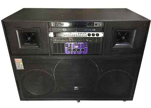 Loa kéo điện J8300, loa karaoke công suất lớn, max 1600W