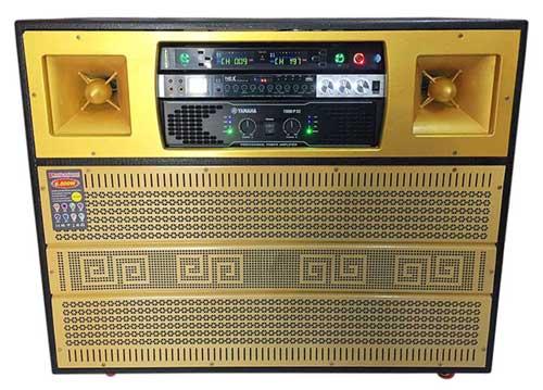 Loa kéo điện J8500, cấu hình mạnh mẽ, âm thanh cực chất