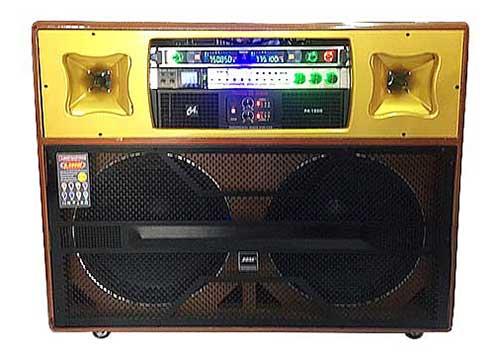 Loa kéo điện T1910, loa karaoke cao cấp, công suất max 1200W