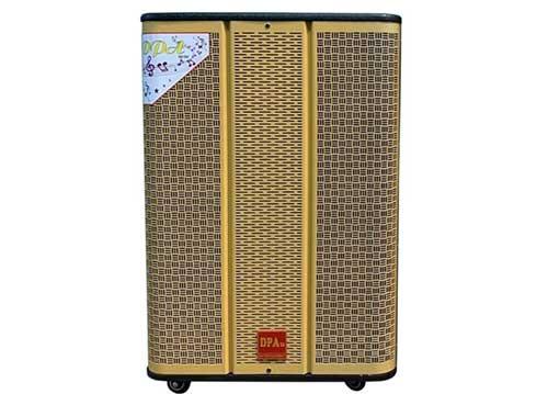 Loa kéo DPA 1502, loa hát karaoke 2 đường tiếng, bass 4 tấc