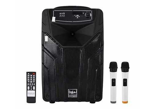 Loa kéo EagLe-J ED12A, loa karaoke di động 3.5 tấc, max 350W