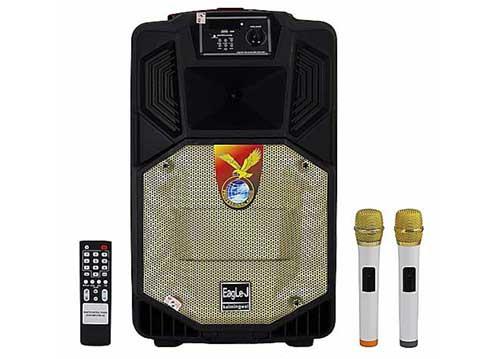 Loa kéo EagLe-J ED12N, loa di động hát karaoke, power max 350W