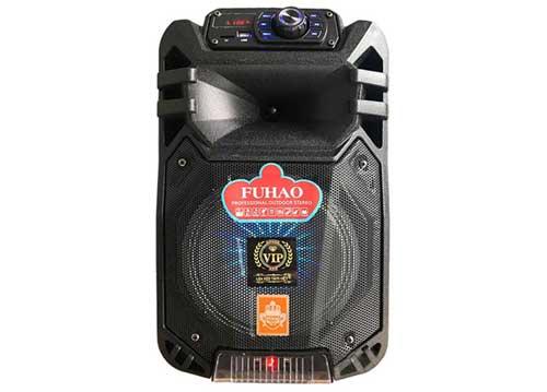 Loa kéo FUHAO FH-B08, loa karaoke mini 2.5 tấc, công suất 100W