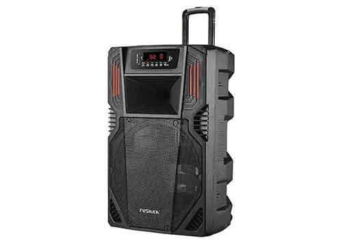 Loa kéo Fushika PK-06, loa vỏ nhựa, hát karaoke offline