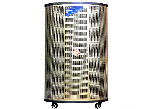 Loa kéo Hoxen L-286, loa karaoke thùng gỗ, bass 5 tấc