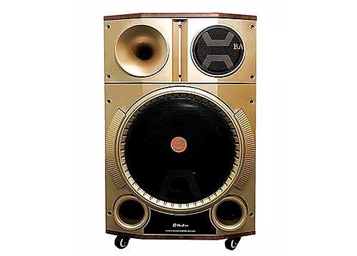 Loa kéo Hoxen LE-15T, loa karaoke di động, micro set được tần số